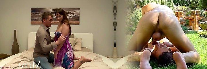 ANNE MİLF hottie sert arkasında ve uçtan bir yapışkan ile anal seviyor