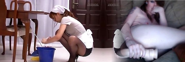 Horny Asian chick Kaede Oshiro, Yuria Shima, Mayuka Momota in Outstanding Maid JAV tweak