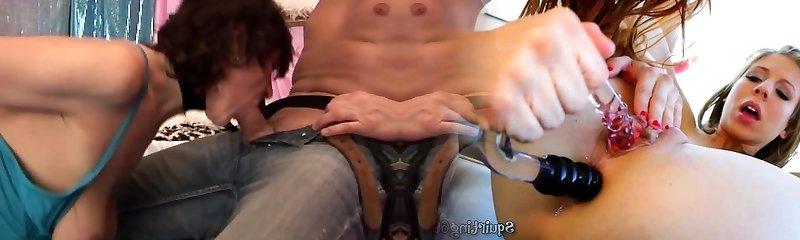 stepmoms first gargle anal fisting