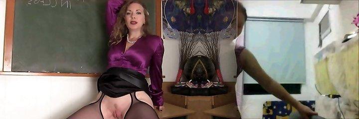 Mistress Teacher And Her Schoolgirl