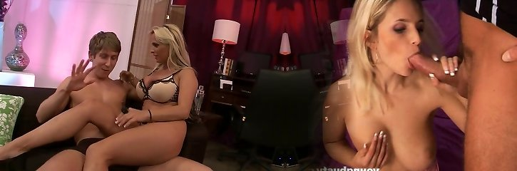 Fabulous porn industry star Holly Halston in horny blonde, hd sex clip
