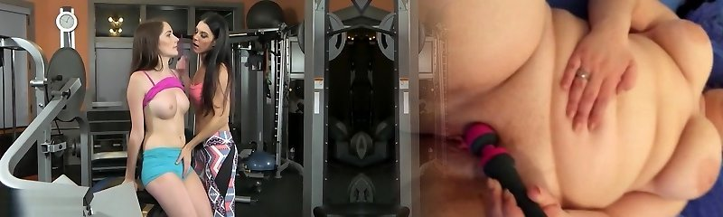 Moms Ravage Teen - Sexy threesome at the gym