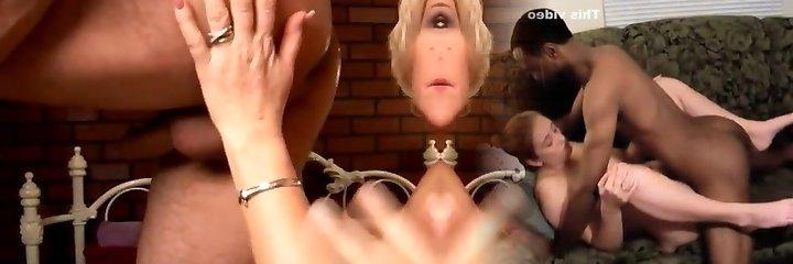 Kinky mature stunner Molly gives a sloppy assjob