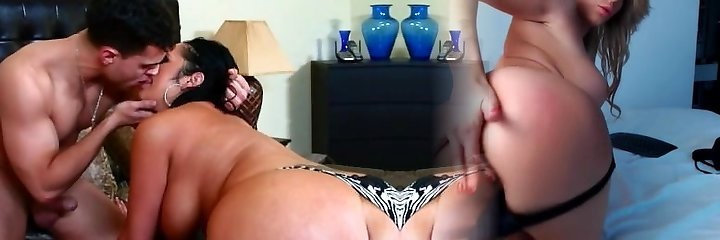 Chubby mommy Vannah Sterling showcases off her abilities