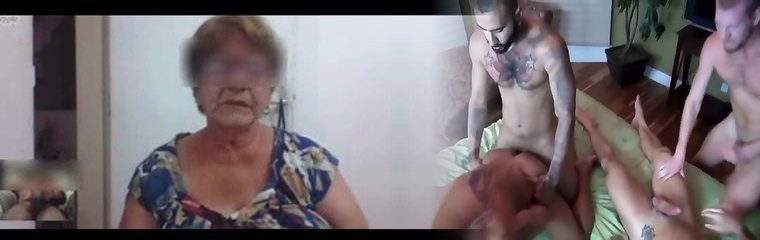 Brazilian granny captured masturbating on skype