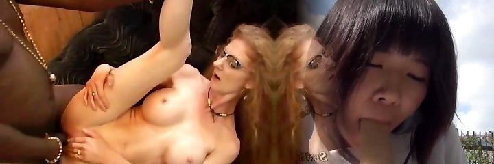 Mature Ginger-haired Annie In Glasses Gets Buttfucked