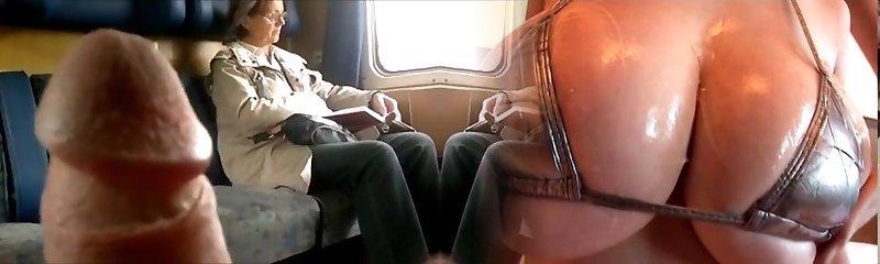 Train Dick Showcase To Mature - With Jism