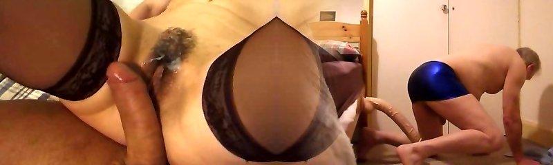 mom on big cock