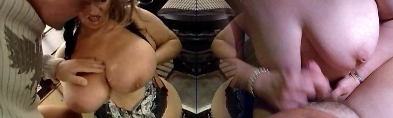 UGLY Grannie WITH HUGE BOOBS Nailed  BY THE MECHANIC 1