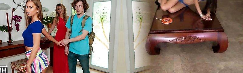 Alana Luv & Jill Kassidy & Brick Danger in Pound N Breakfast - MomsBangTeens