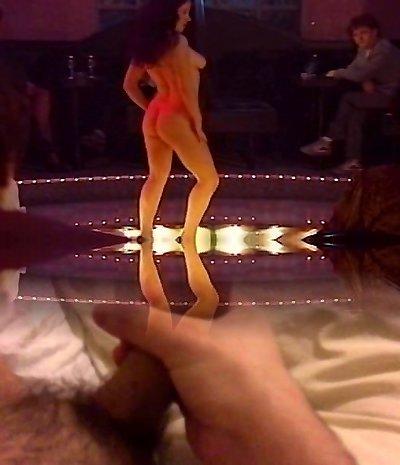 All Girl striptease strapon session