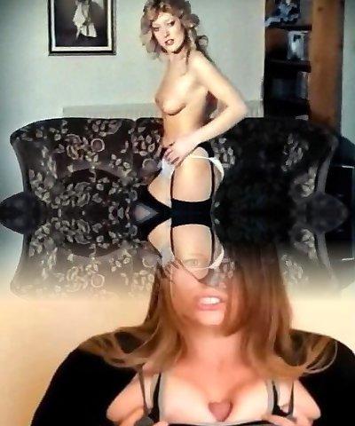 CALL ME - vintage Brit cutie strip dance pert blonde