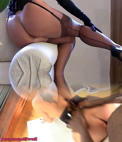 Classical lingerie tease