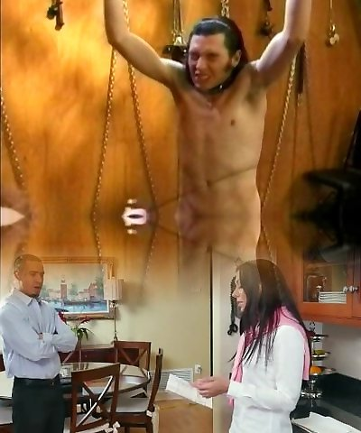 Vintage Female Dominance Olivia Outre with Male Slave