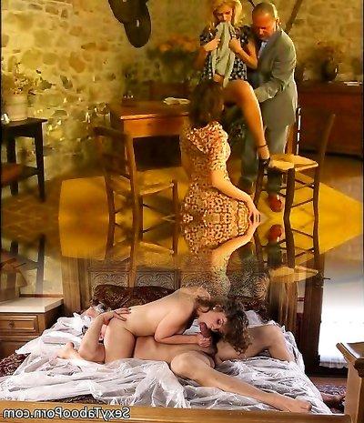 Anal threesome Angelica Insane, Jane Darling