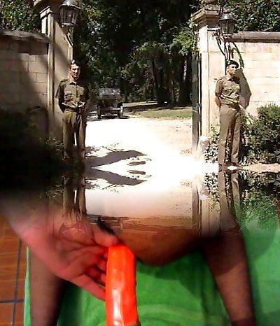 Lisa Crawford- Soldiers pummel the G�n�ral Wife