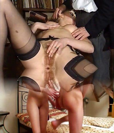 ITALIAN Pornography anal fur covered babes threesome vintage