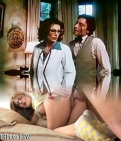 Horny beautiful and huge-titted vintage doctor sucks strong dick of naughty guy