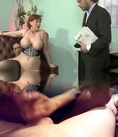 plump german milf threesome