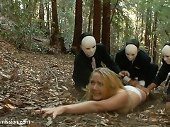 When an investigative reporter spies on an annual gathering of policy making elites, she witnesses a terrifying hunt through the remote woods for a sacrificial woman to be offered up on an alter of sexual ritual and depravity.