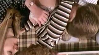 Amazing vintage porn star in old school porn video