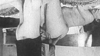 Authentic Vintage Porn 1950s - Shaved Pussy, Voyeur Drill