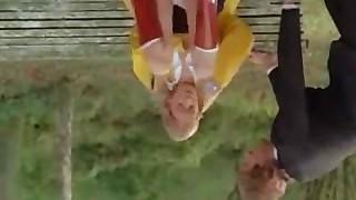 Retro Pigtail Ash-blonde Fun