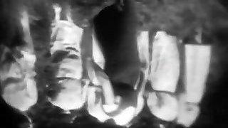 Horny Mademoiselles get Slapped in Woods (1930s Vintage)