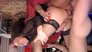 Hottest amateur DP, Compilation sex clip
