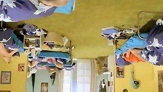 Six Swedish girls in a boarding school