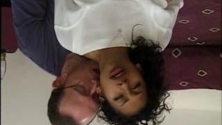 Classic porn sextape of interracial group fun