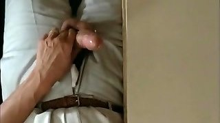 Husband spys on wife fucking a young man