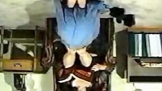 Be my footstool, darling
