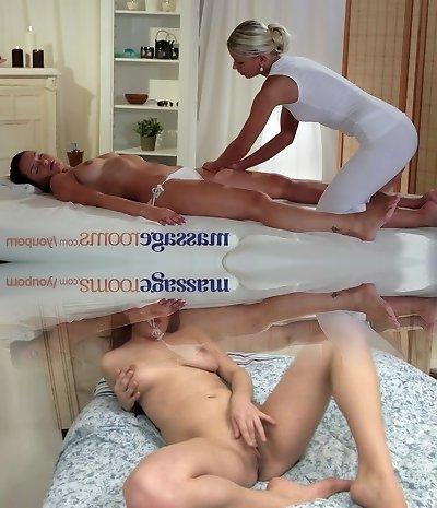 Massage Bedrooms Moist youthfull girl gets hard fingering and licking till ejaculation