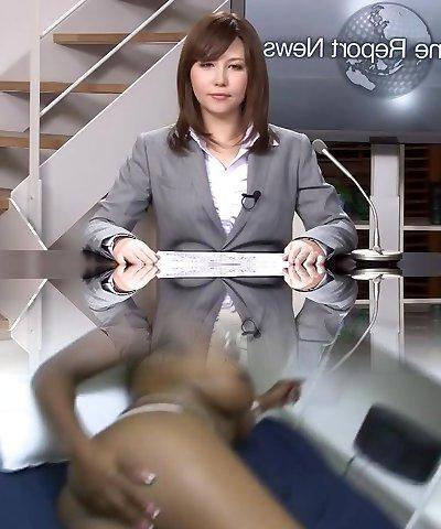 Exotic Japanese whore Nonoka Momose in Best Deep Throat, Secretary JAV video