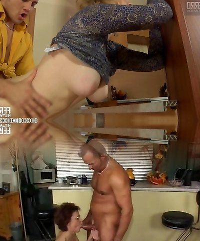 Hot russian mature fucking a youthfull guy