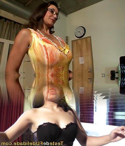 Greatest adult movie stars Persia Monir and Bonnie Skye in hottest brown-haired, masturbation xxx scene