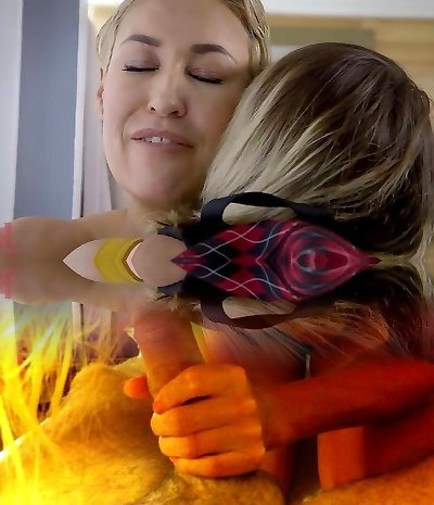 Lesbian Teen Gets Assfuck Revenge from Step Mom