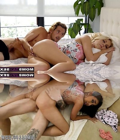MomsTeachSex - Mother And Sonnie Share Bed And Fuck S7:E3