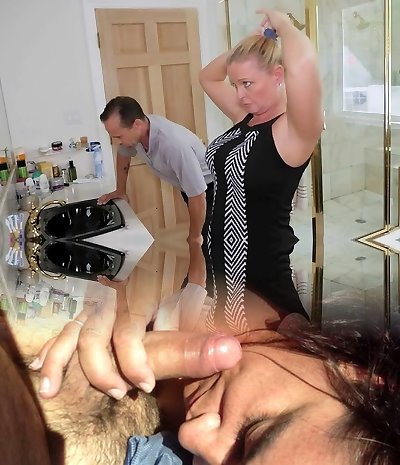 FamilyStrokes - Daughter Fucks Step-Parent While Mom Showers