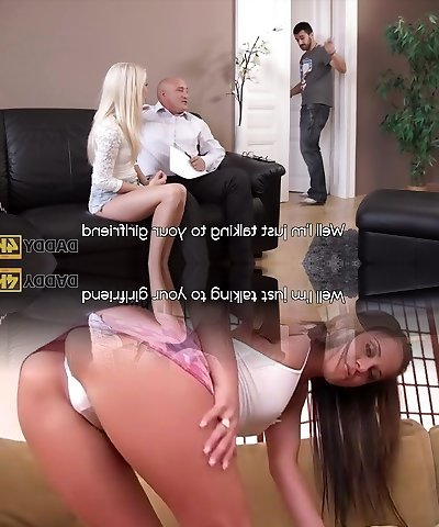 DADDY4K. Horny blondie wants to try someone lil' bit more expert