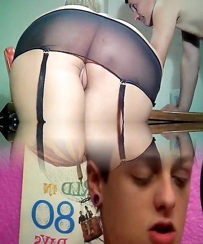 Depraved mature blonde Danyana