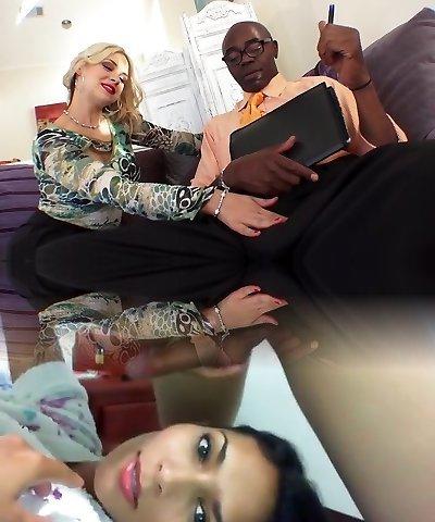 Impressive pornstar Sarah Vandella in amazing mature, deep jaws adult movie