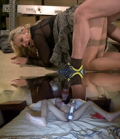 Dirty haired supply manager Nicole gets pounded by horny worker rather rigid