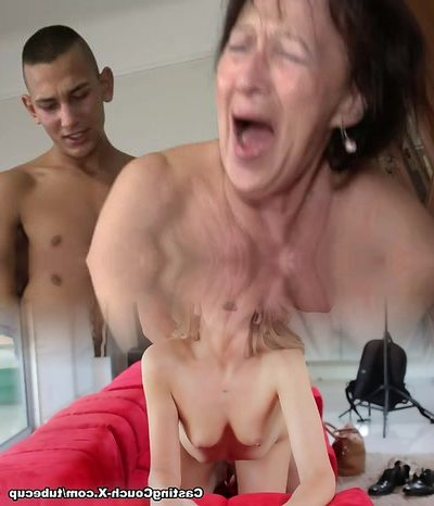 Granny Likes Youthful Boy's Balls and Ass