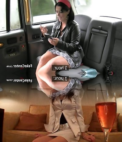 Mature gypsy got ass fucking penetrate in taxi