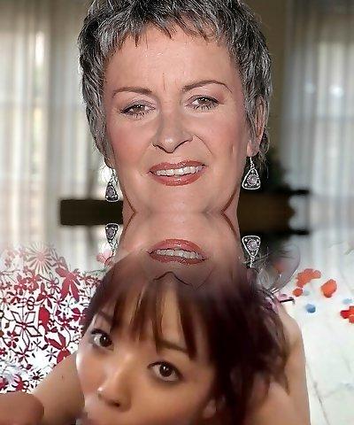 Hairy grandma Etta