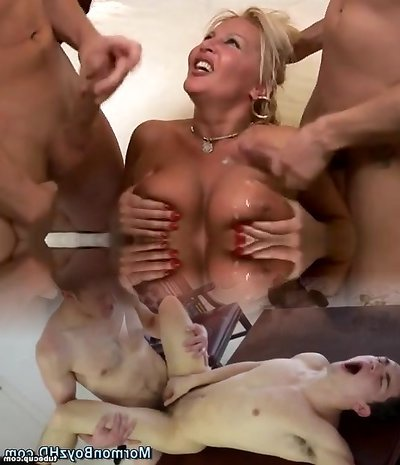 Beautiful Mature Screwed by TWO Bbc by BlueEye