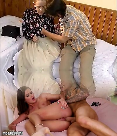 fur covered moms ass needs a youthfull cock