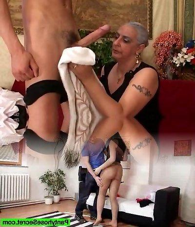 Granny Loves Monstrous Dick